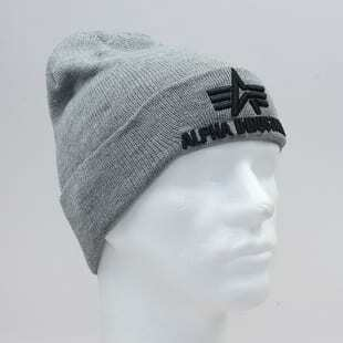 Alpha Industries 3D Beanie grey heather 168910/17