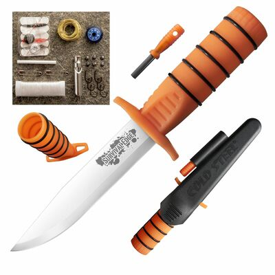 Cold Steel Survival Edge (Orange) 80PH