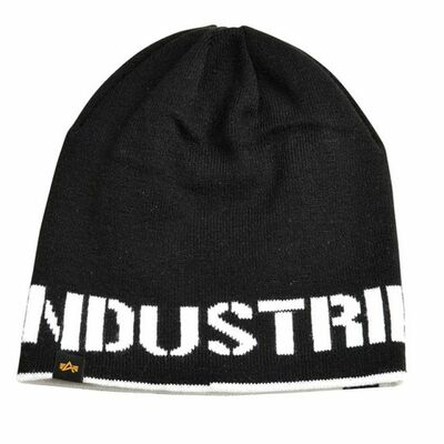 Alpha Industries Reversible Beanie II black/white 168909/95