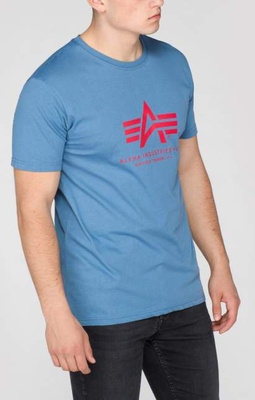 Alpha Industries Basic T powder blue 2XL 100501/337/2XL